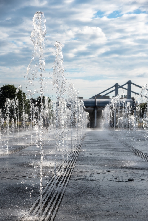 Museon fountains